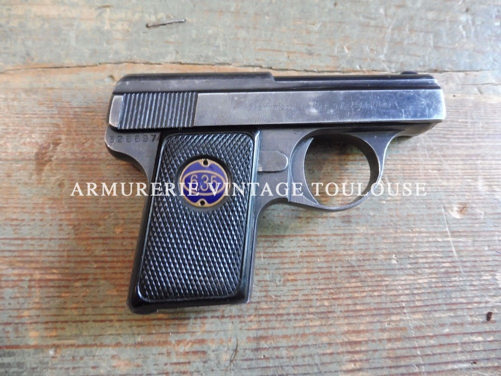 Petit pistolet Walther nr 9
