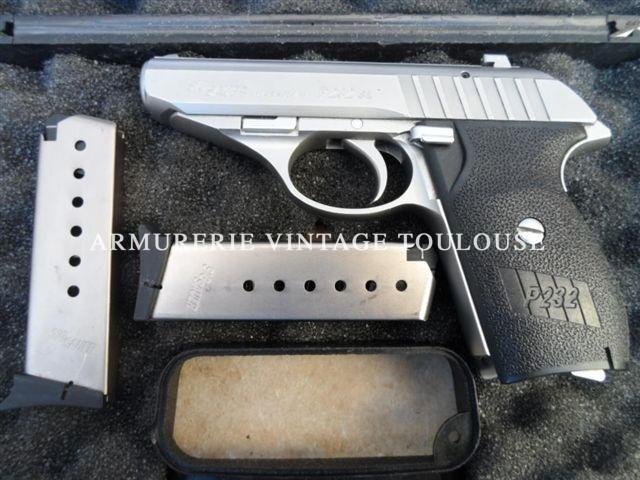 pistolet SIG P232 calibre 32ACP