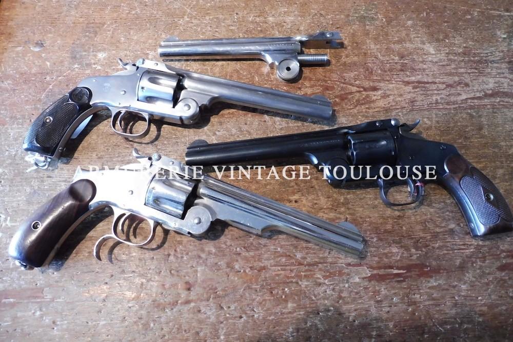 Divers revolver Smith & Wesson à brisure calibre 44 Russian, modéle Russian ou numéro 3, fabrication US