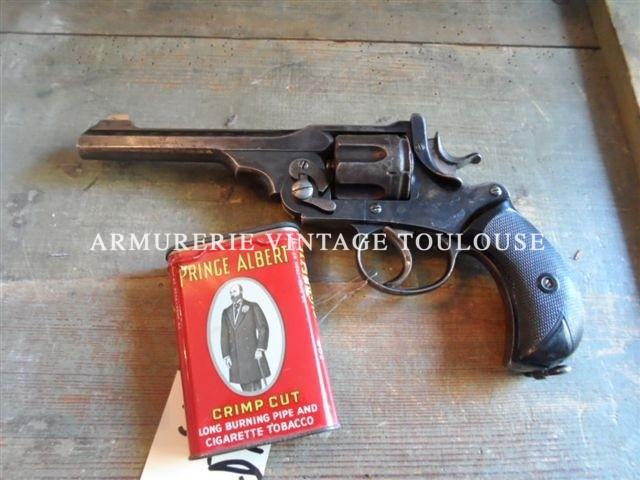 Depot-vente client Rare révolver à brisure Anglais Webley-Green army model calibre 455/476