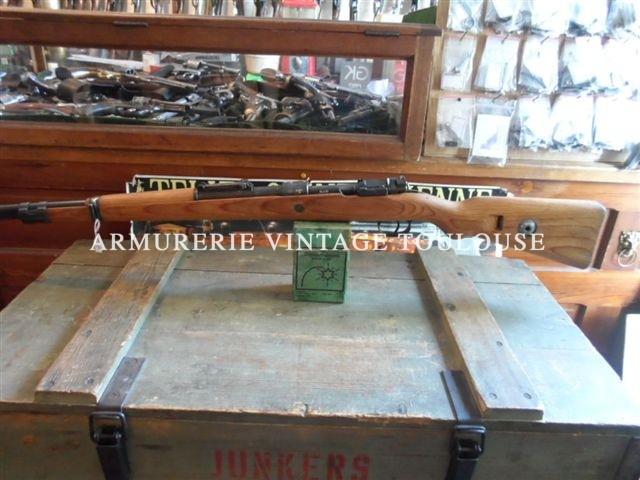 "Belle carabine Mauser 98k bronzage d'origine, fabrication""bcd"" 42"