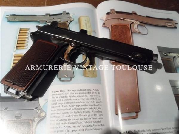 Pistolet rare : Steryr Hann