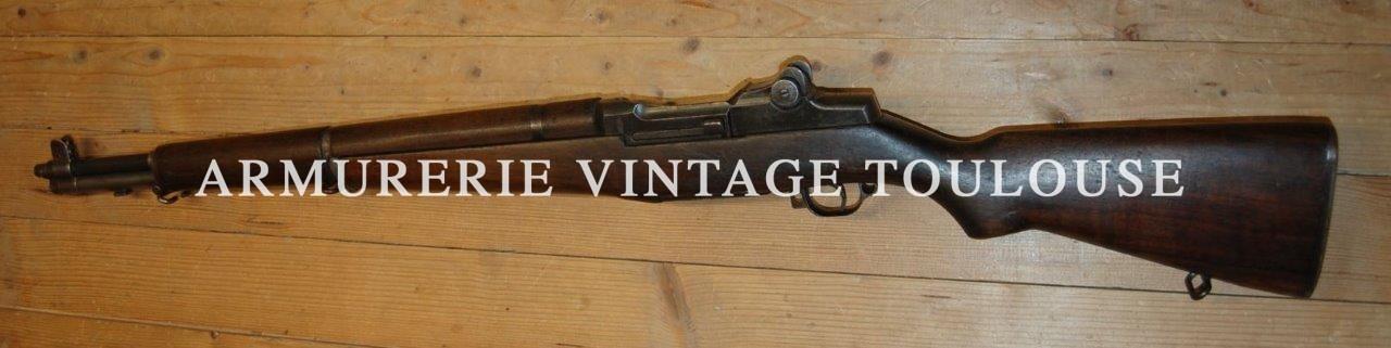 fusil réglementaire Garand M1 calibre 30/06 précoce fabrication Springfield Armory en Octobre 1941