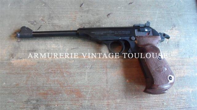 Pistolet de tir calibre 22LR Walther construction sous licence Manurhin