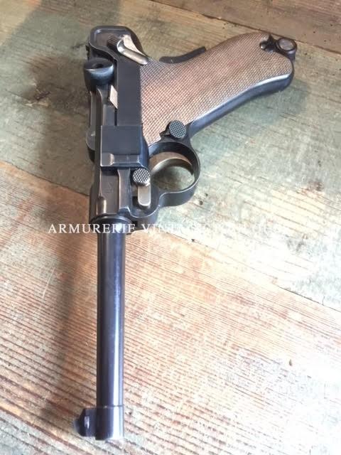 Rare pistolet Parabellum 1900 réglementaire Suisse calibre 7,65 Parabellum fabrication DWM