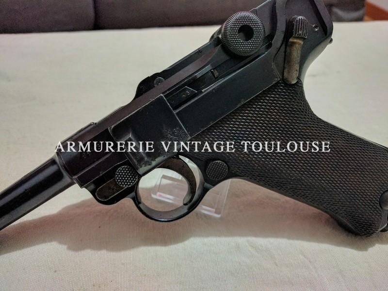 Pistolet Parabellum P08 DWM 1914