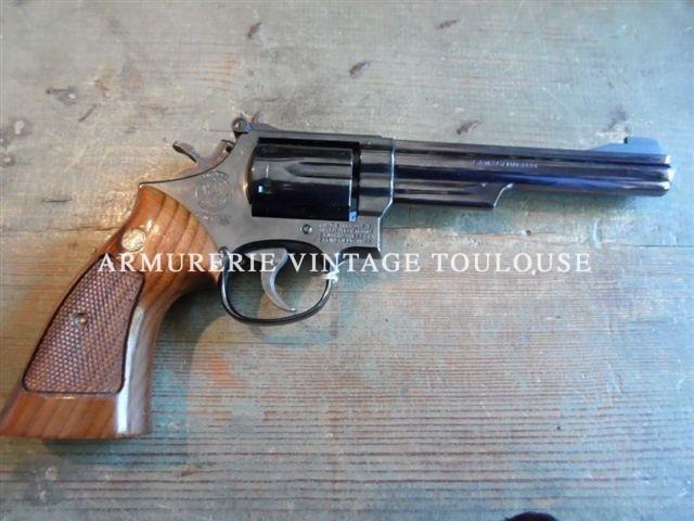 Revolver Smith et Wesson modèle 19/3 calibre 357