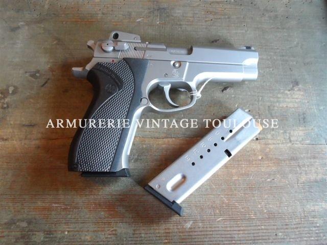 Pistolet calibre 9X19 Smith et wesson modèle 5906