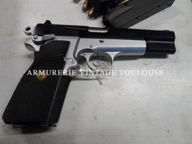 Pistolet Browning GP 35 bicolore calibre 9×19