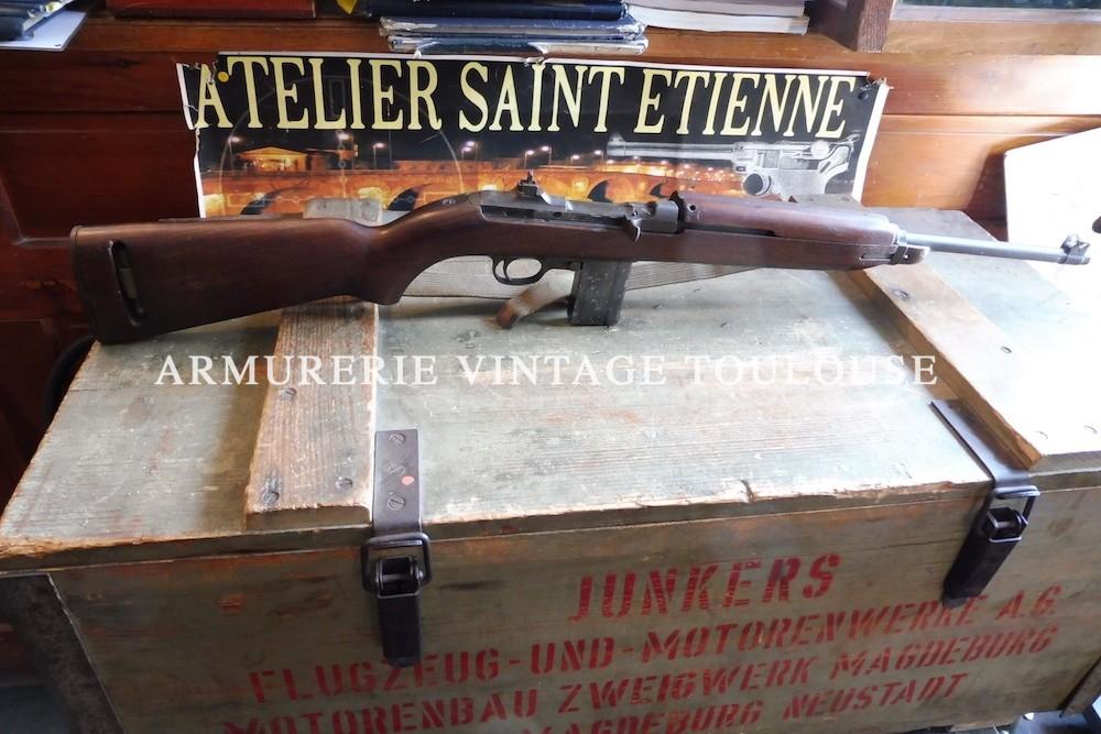 Carabine USM1 fabrication bonne de guerre