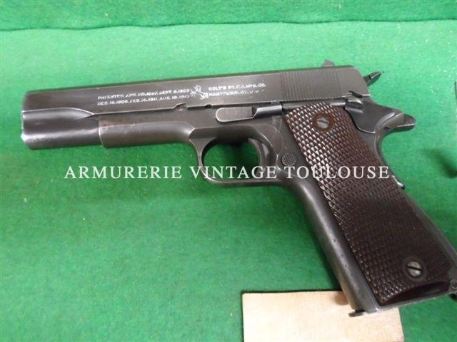Pistolet 1911 A1 calibre 45 ACP Fabrication Colt en 1943