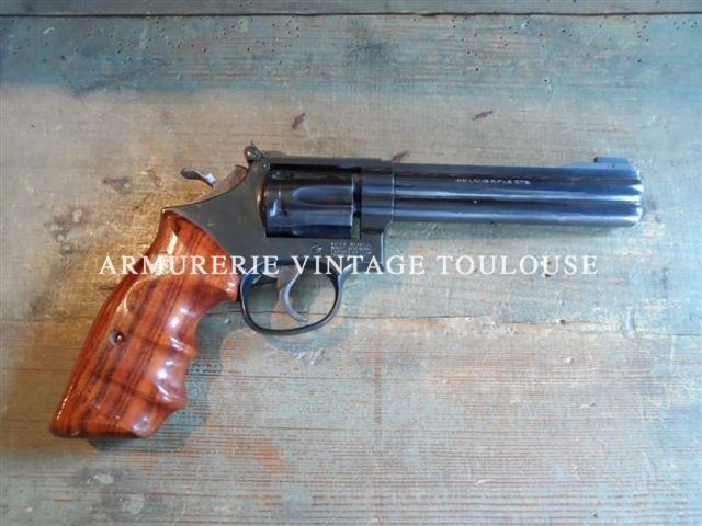 révolver Smith et Wesson modèle 17/6 calibre 22LR