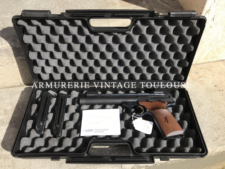 Pistolet Browning Buckmark calibre 22 LR