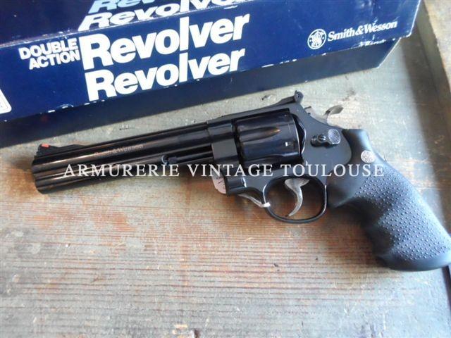 Révolver Smith & Wesson modèle 29/5 classic calibre 44 Magnum canon de 6,5