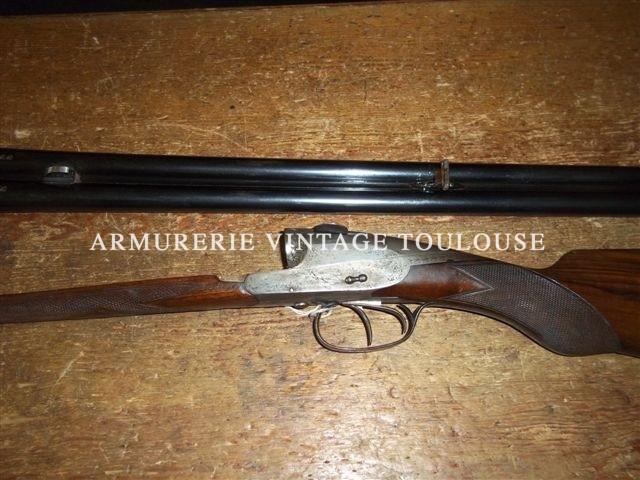 Joli fusil à canons fixes Charlin