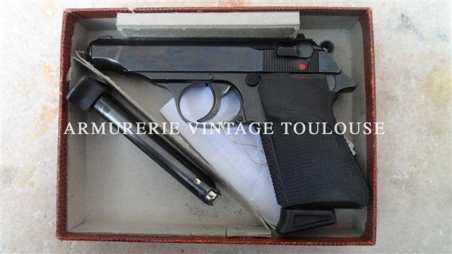Pistolet Walther PP Calibre 22LR de fabrication Manurhin