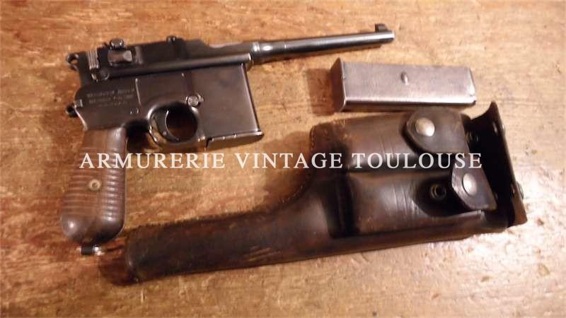 Rare Schnellfeueur type 1912 sélecteur Westinger