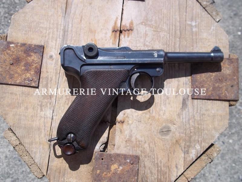 Rare et joli P 08 contrat Bulgare modèle 1908