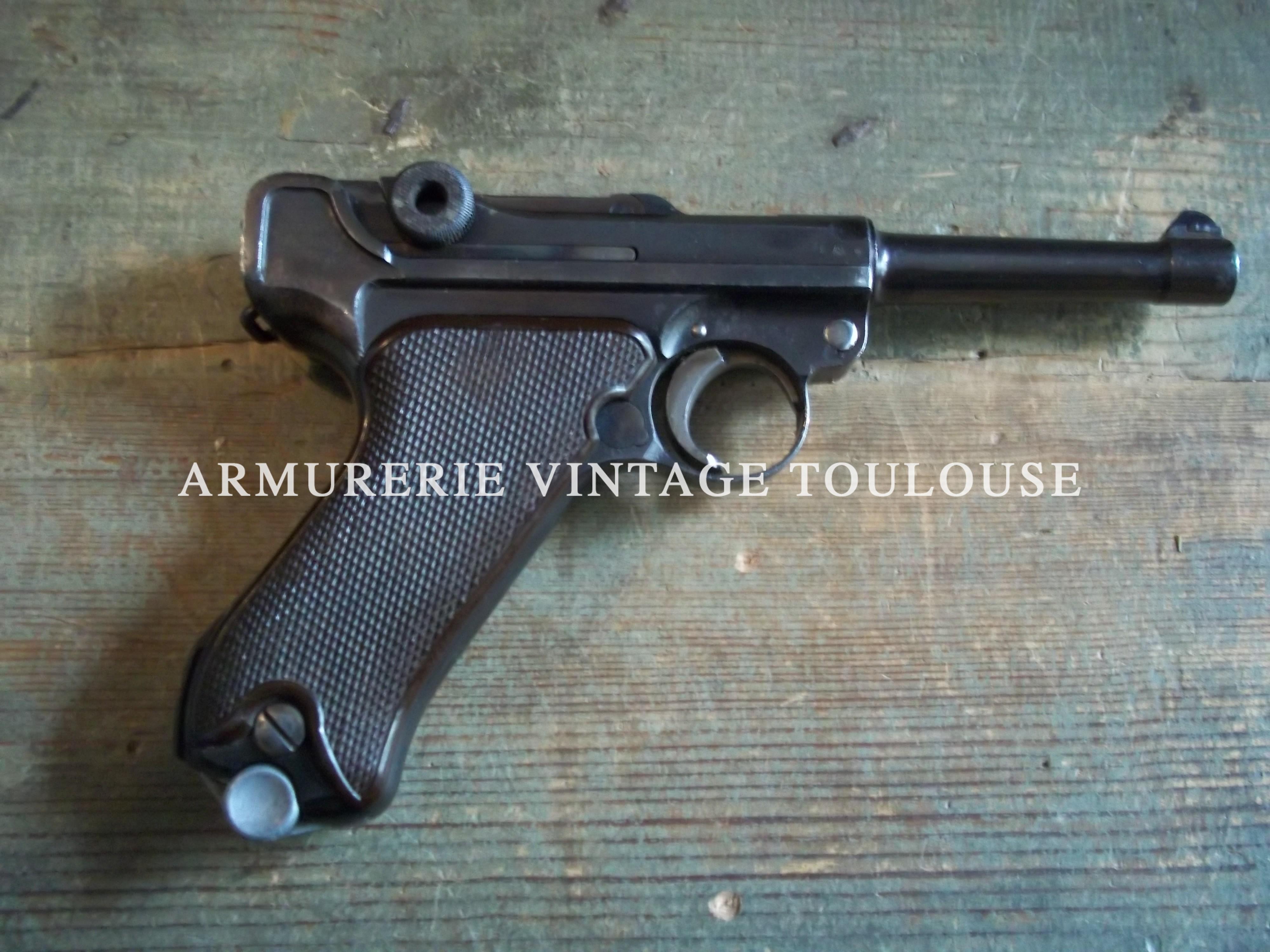 Rare P08/14 contrat pour la Lutwaffe en 1936