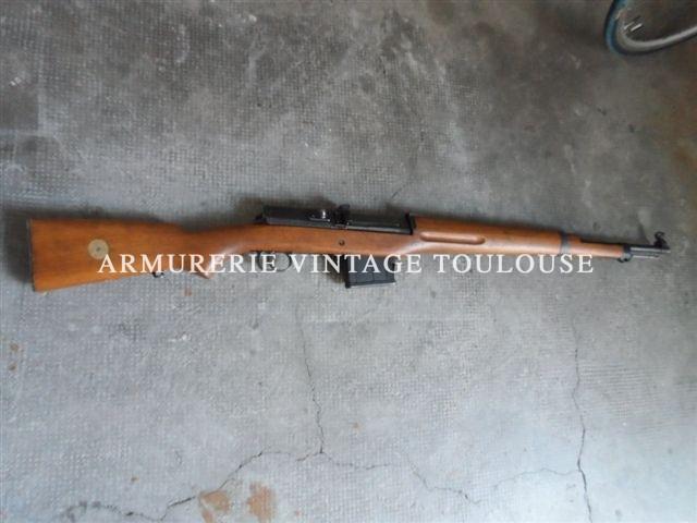 Trés rare fusil semi automatique Suédois ljungman AGM 42 calibre 6,5X55 ( Ljunman Automatgevär m/42 Ljungman )