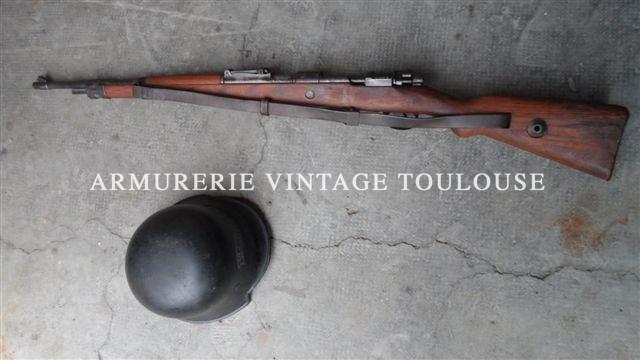 Carabine Mauser 98 K dans son jus de grenier