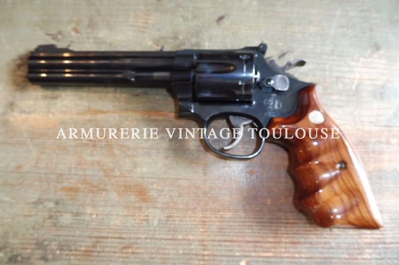 Splendide revolver Smith & Wesson modèle 17 calibre 22 LR