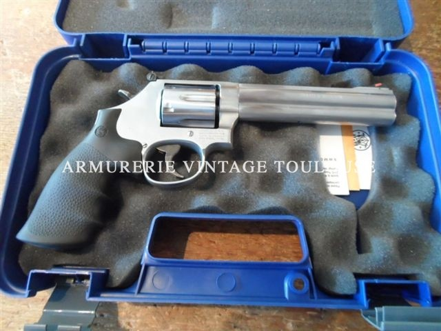Smith et Wesson 686/6 en 6 pouces calibre 357 mag.