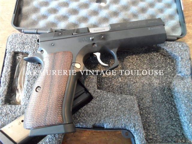 Pistolet calibre 45 ACP CZ 97 occasion superbe