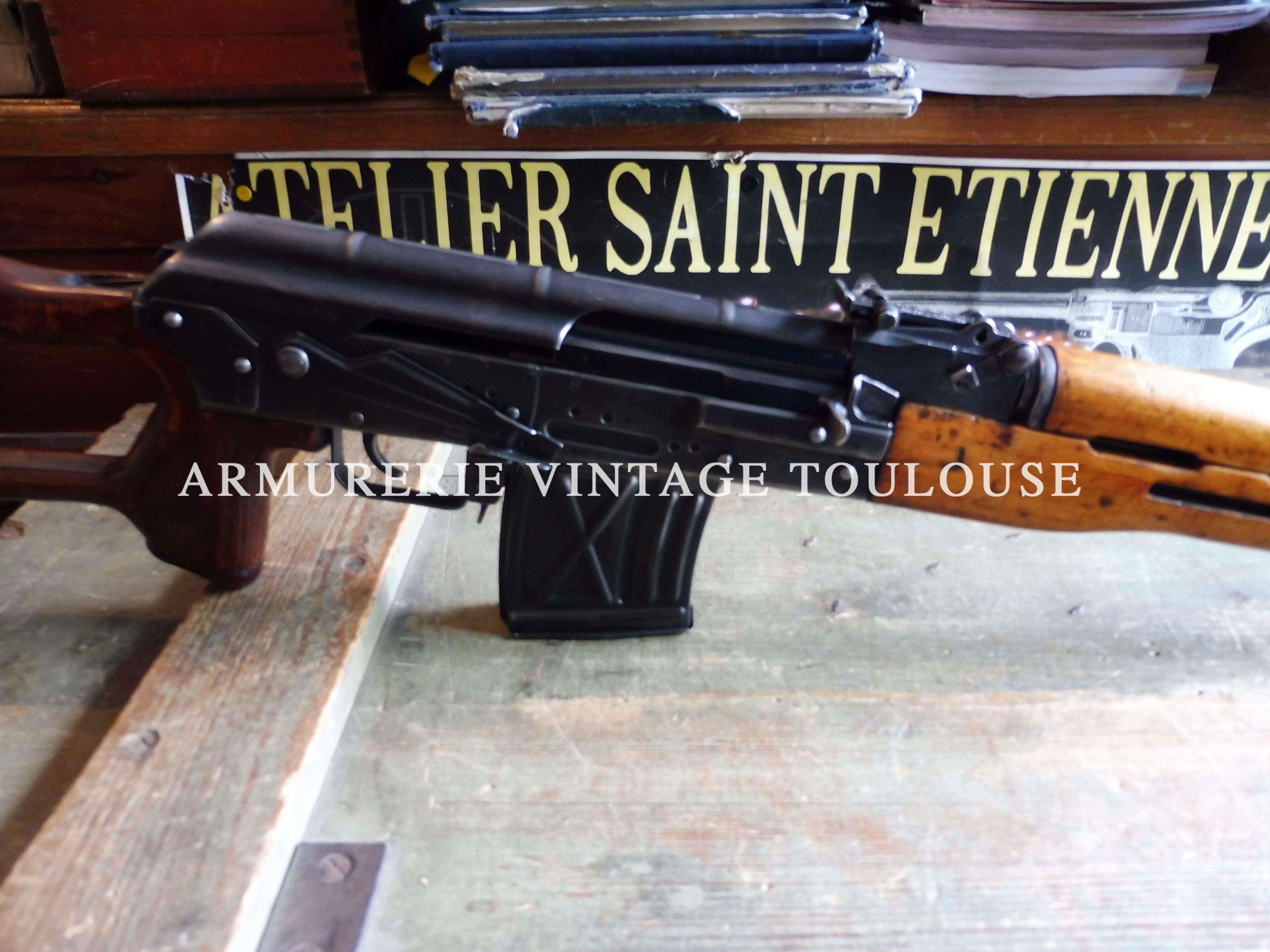 """Fusil semi-automatique calibre 7,62 X 54R réglementaire Roumain PSL """"Cugir"""""""