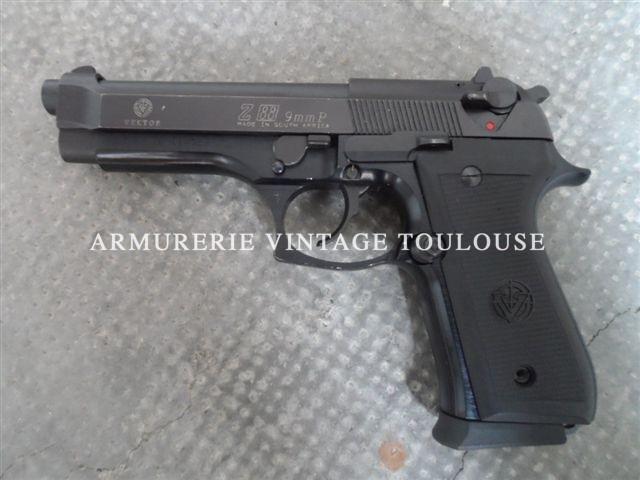 Pistolet Sud-Africain VECTOR Z 88 calibre 9X19