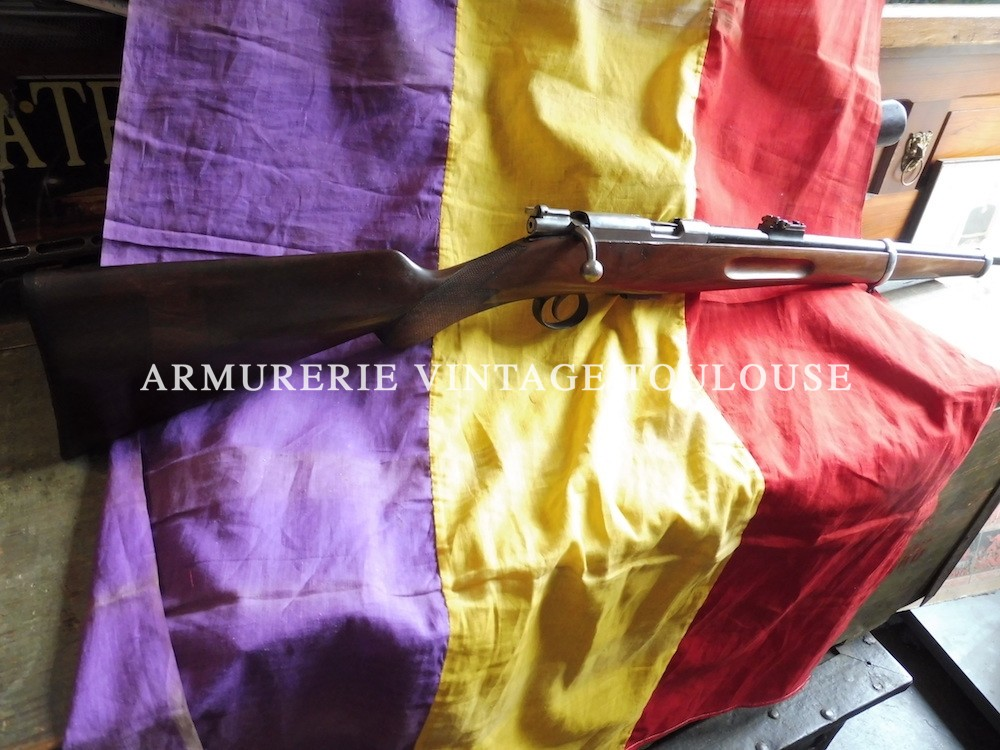 Rare carabine Destroyer calibre 9 X 23.