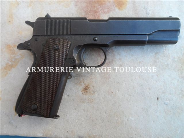 Pistolet 1911 A1 calibre 45 ACP fabrication Remington
