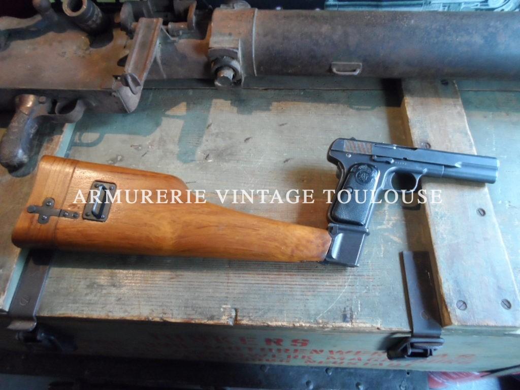 Pistolet Browning 1903 calibre 9mm