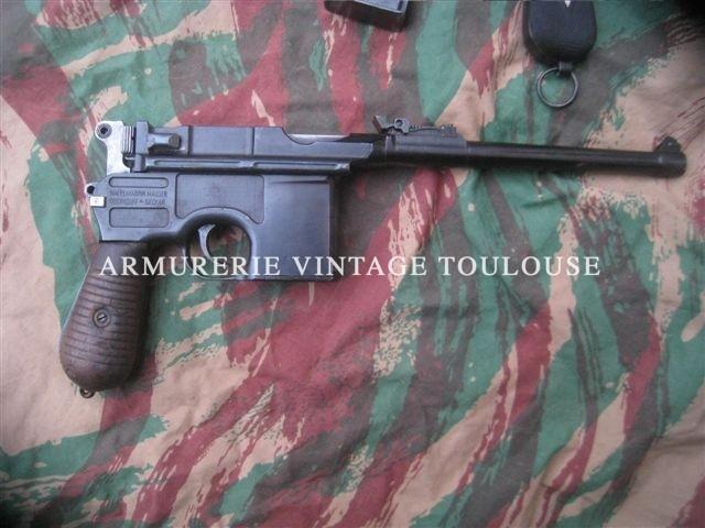 Pistolet Hybride C96/P08 arti !!!