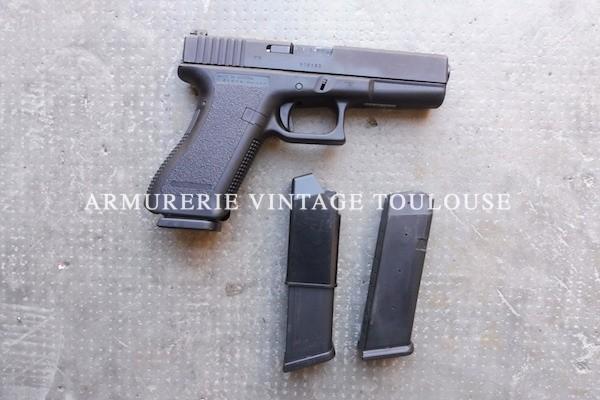 Pistolet Glock 17  génération I calibre 9X19