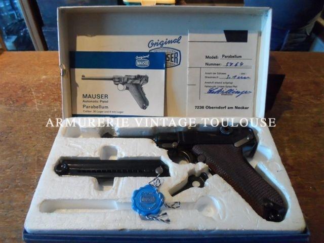 pistolet Parabellum AMERICAN EAGLE calibre 9X19.
