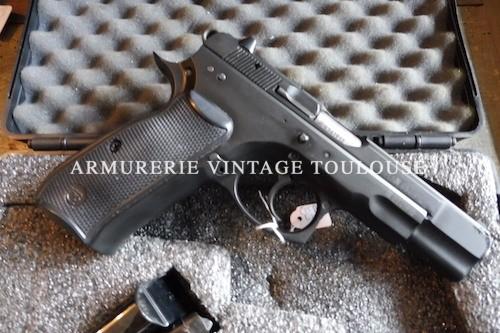 Pistolet Calibre 9 X 19 CZ 75
