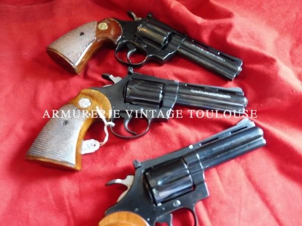 Lot de Revolver Colt Diamond Back calibre 38 spécial en canon de 4 pouces!!