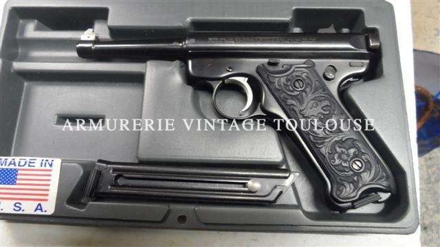 pistolet Ruger calibre 22LR modéle MKII
