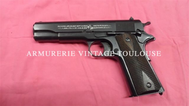 Rare pistolet Colt modèle 1911 calibre 45ACP