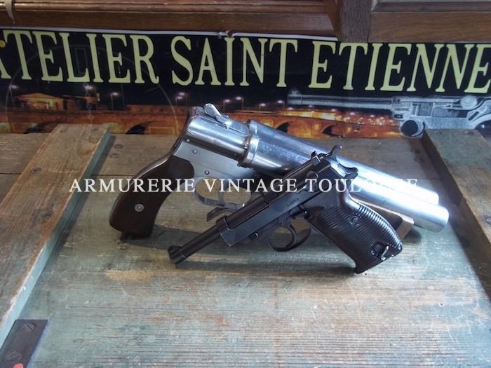 "P38 précoce ""ac"" 42 calibre 9 x 19"