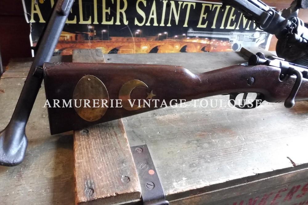 Arme historique!!! Mousqueton 1890 de gendarmerie 3 coups calibre 8mm lebel