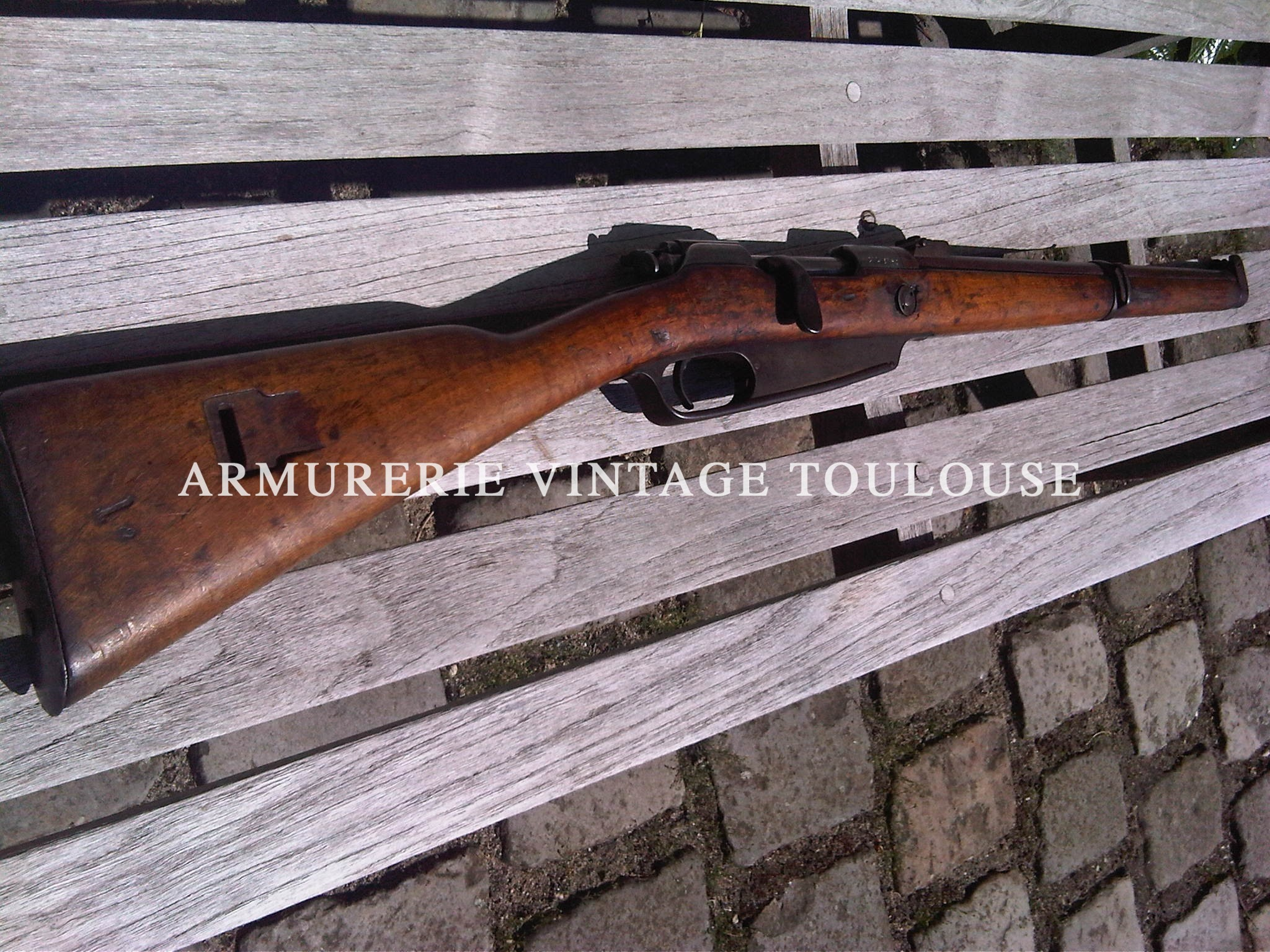 Karabiner 88 calibre rechambrée en 8x60s (5eme catégorie)