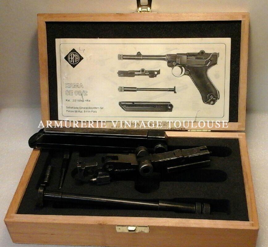 Erma calibre 22LR pour Pistolet P 08