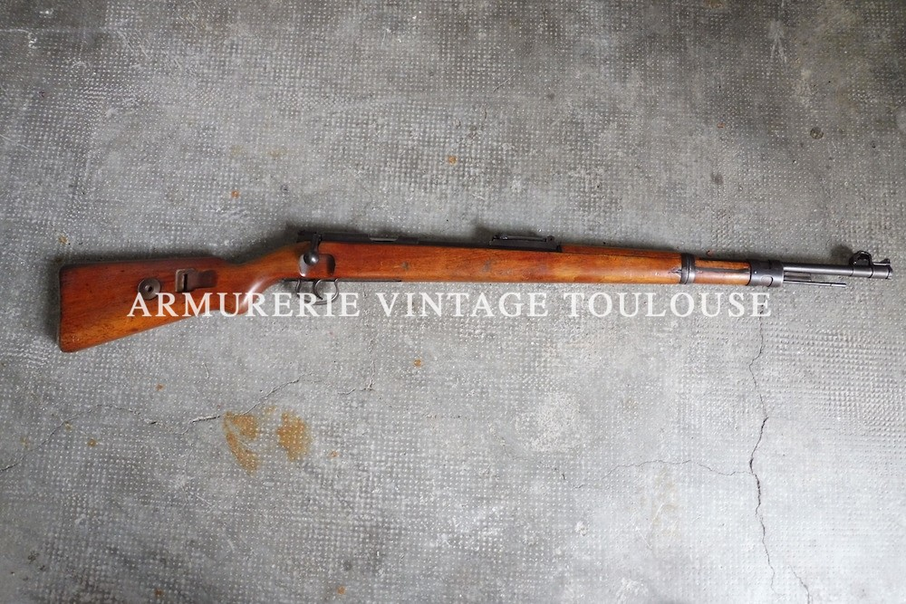 Somptueuse carabine Mauser KKW monocoup calibre 22LR