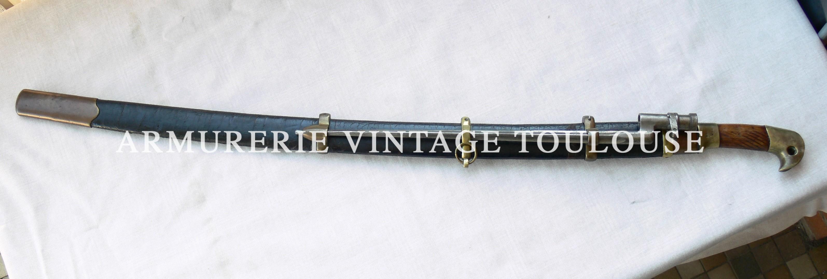 Beau et rare sabre de Cosaque Shashka troupe modèle 1881 fabrication de 1895 par la manufacture de Zlatoust (Златоуст)