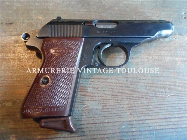 Pistolet Walther PP Fabrication Manurhin calibre 22LR