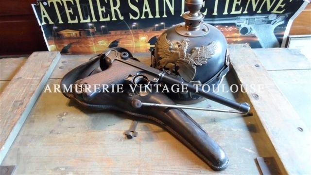 """P08 artillerie fabrication 1917 """"DWM"""""""