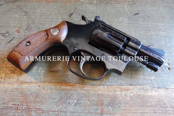 Petit révolver Smith et Wesson type 34/1 calibre 22LR