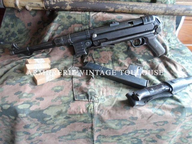 Pistolet-Mitrailleur MP 40